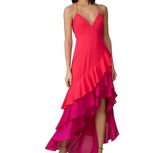 Colorblocked One33Social High Low Gown